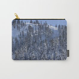 Snowy Mountain Carry-All Pouch