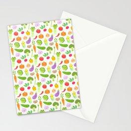 Happy Veggies Stationery Cards