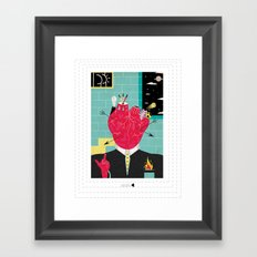Lovers gonna love, Haters gonna hate Framed Art Print