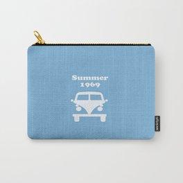 Summer 1969 -  lt. blue Carry-All Pouch