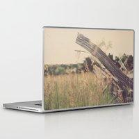 battlefield Laptop & iPad Skins featuring Battlefield Fence by Sam Wesselhoft