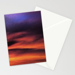 Sunset in the Maldives Stationery Cards