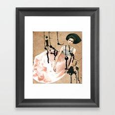 My heart Framed Art Print