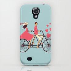 Love Couple Slim Case Galaxy S4