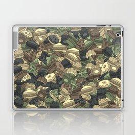 Fast food camouflage Laptop & iPad Skin