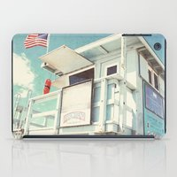 cabin iPad Cases featuring The cabin by Retro Love Photography