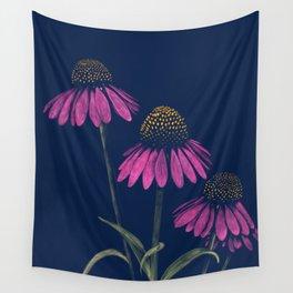 Plant Medicine: Echinacea Purpurea Wall Tapestry