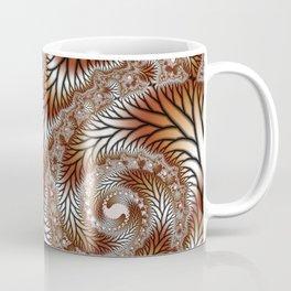 Tree Dance Fractal Coffee Mug