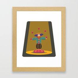 clown eye Framed Art Print