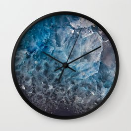 An Ocean in Stone Wall Clock