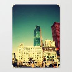Chicago Retro Skyline ~ architecture Canvas Print