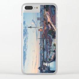 Berlin Classic Clear iPhone Case