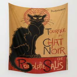 Le Chat Noir - Théophile Steinlen Wall Tapestry