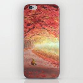 Autumn Journey iPhone Skin