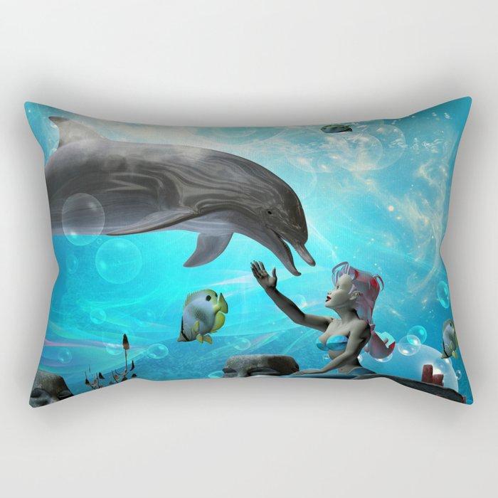 Cute mermaid  Rectangular Pillow