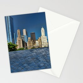 Chicago park Stationery Cards
