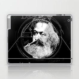 The Time of Marx Dark Laptop & iPad Skin