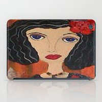 gypsy iPad Cases featuring GYPSY by Knittingandthings