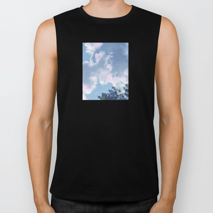 The Colour of Clouds 01 Biker Tank
