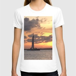 Key West sailing into Sunset T-shirt