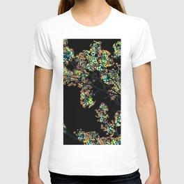 Mismatch Color Hatch T-shirt
