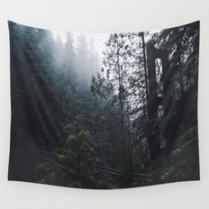 Forest Bridge Wall Tapestry
