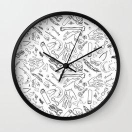 Creepy Luck Wall Clock