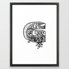 The Letter G Framed Art Print
