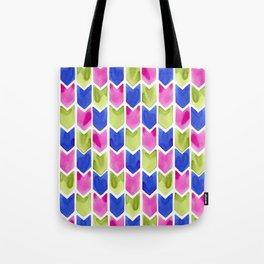 Arrow Multicolor Tote Bag
