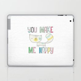 make me happy Laptop & iPad Skin