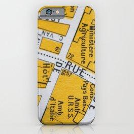 Paris Streets 1 iPhone Case