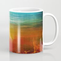flight Mugs featuring Flight by SensualPatterns