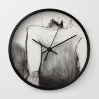 jasmine Wall Clocks featuring Jasmine by Helen Syron