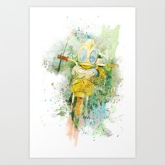 Come on, play with me once more... Art Print