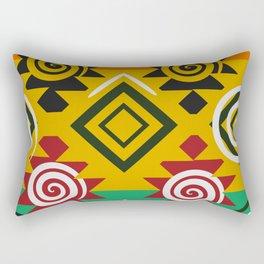 Geometric festival Rectangular Pillow