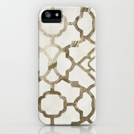 Moroccan Gold IV iPhone Case