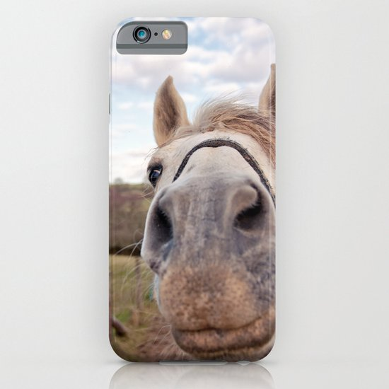 look at my horse... iPhone & iPod Case