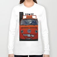 volkswagen Long Sleeve T-shirts featuring funny volkswagen by gzm_guvenc