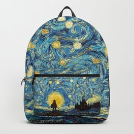 triforce warrior link starry night iPhone 4 5 6 7 8, pillow case, mugs and tshirt Backpack