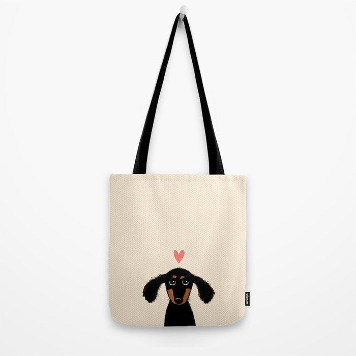 Dachshund Love Tote Bag