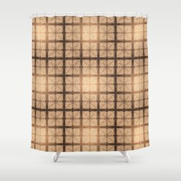 abstract feather pattern II Shower Curtain