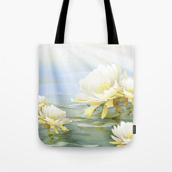 Tropical Blooms Tote Bag