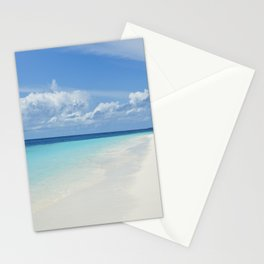 The Maldives' Blue Stationery Cards