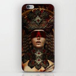 Ad maiorem Dei gloriam (A.M.D.G.) iPhone Skin