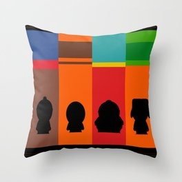 SouthPark: Meet Some Friends of Mine Throw Pillow