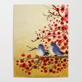 Love Birds Poster