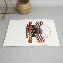 There is no finish line Rug