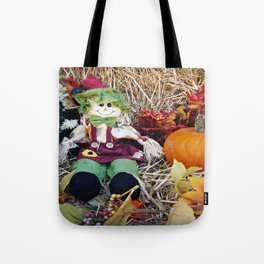 Little Miss Scarecrow Tote Bag