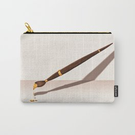 Painting in Gold Carry-All Pouch