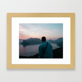 My Good Friend, Ben Framed Art Print